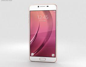 Samsung Galaxy C5 Rose Gold 3D gold