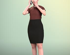 Sheona 20448-11 - Animated talking Girl 3D model