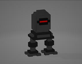 3D model Voxel Robot
