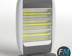 Halogen heater 3D model