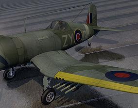 3D Chance Vought Outlaw Mk-1