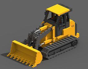 Voxel Crawler Loader 3D model