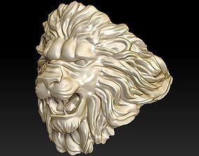3D print model lion ring light