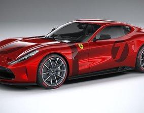 Ferrari Omologata 2020 car 3D model