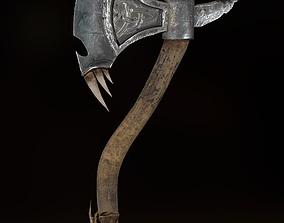 3D asset Orc Axe for tough guys
