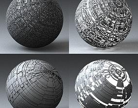 3D model Syfy Displacement Shader G 001 j