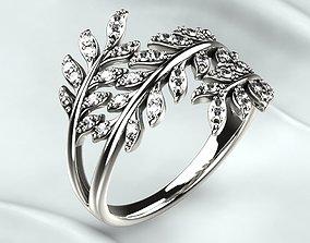 3D print model Branch Tree Golden Ring