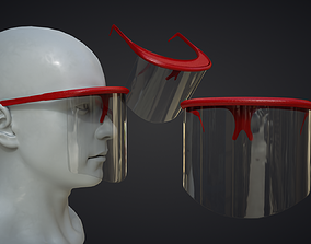game-ready Covid Helmet 3D Print STL