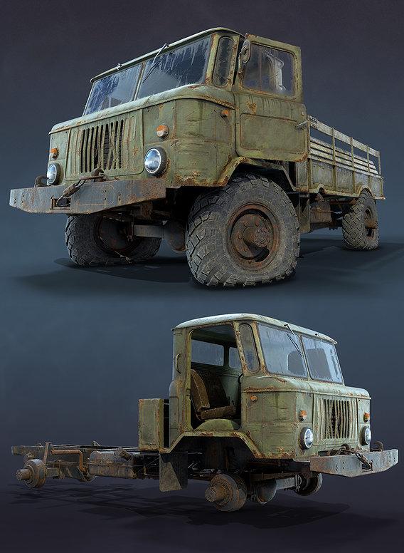 GAZ-66 Rusty