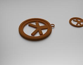 Inconjunctions Pendant 3D print model