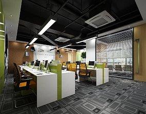 Office meeting room reception hall 61 3D model
