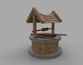 Well or Pit 3D asset