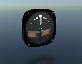 3D asset TURN AND BANK INDICATOR