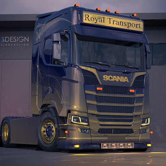Scania Royal Transport