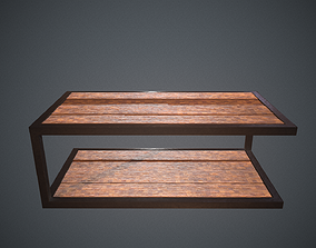 Industry Coffee Table 3D asset