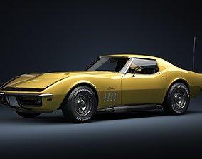 3D 1969 Chevrolet Corvette ZL1 427
