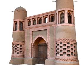 medieval nomad castle 3D asset