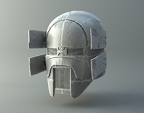 3D print model Damaged Sniper helmet - Knights of Ren - 2