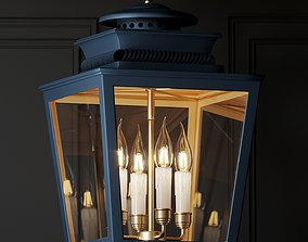 3D Ballard Designs Piedmont 4-Light Lantern