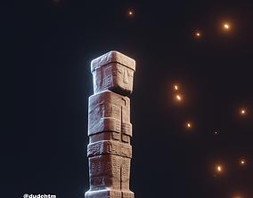 Monument monolith 3D asset