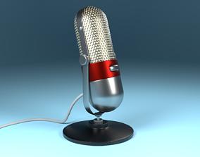 3D Microphone steel