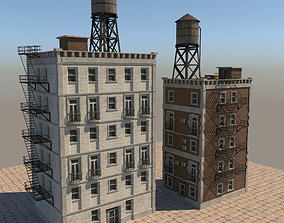 Building new york 3D asset