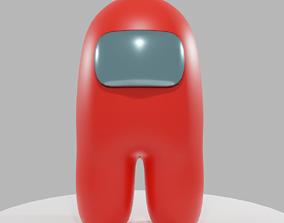 Among Us character 3D