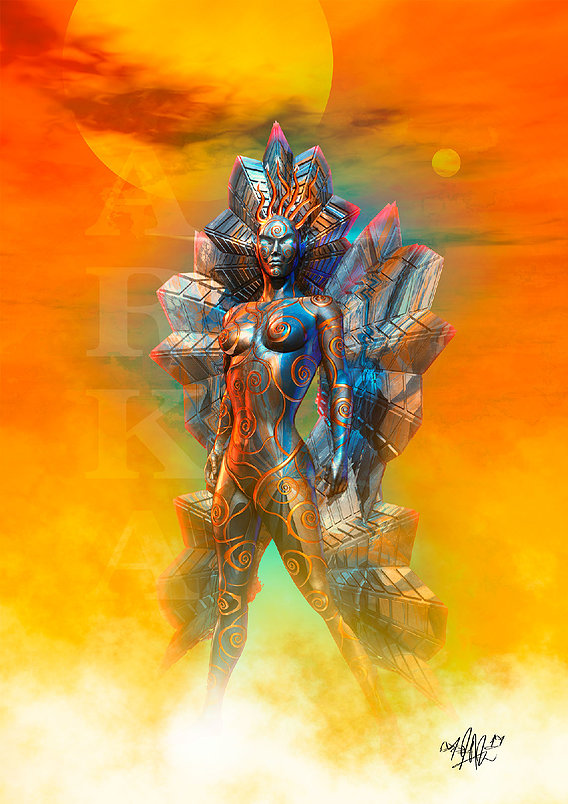 Alien Priestess