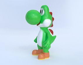 Yoshi action figure 3D print model