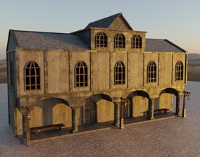 3D asset GameReady Medieval Inn
