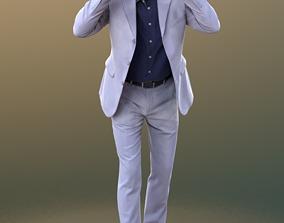 Carlos 10236 - Standing VR Man 3D asset