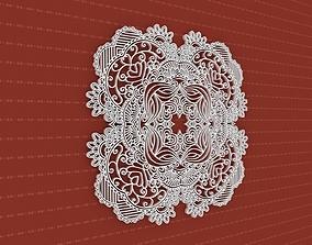 3D model Mandala flower 3dotworks