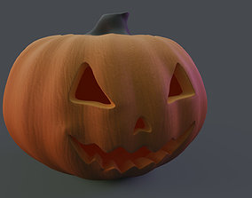 Jack o Lantern - Halloween Pumpkin 3D model