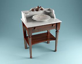 Herbeau Bonne Maman Washstand 3D model