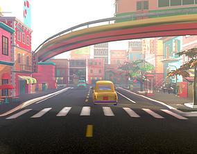 Asset - Cartoons - Street 3D Model realtime