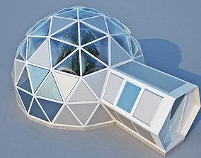 3D Geodome House house