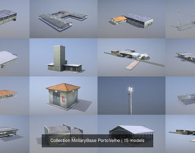 3D Collection MilitaryBase PortoVelho
