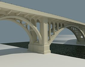 3D model Cornwall bridge