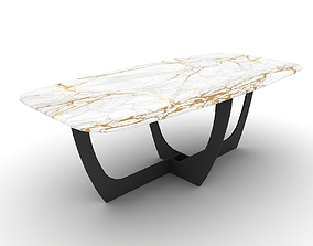 3D model Baxter Romeo table