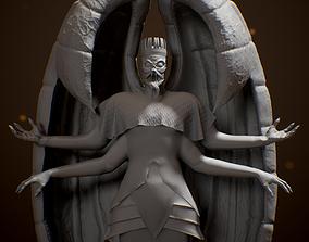 3D printable model Ancient God