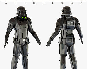 Star Wars Imperial Death Trooper 3D