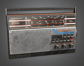 tapes Old Radio TLS - PBR Game Ready 3D model