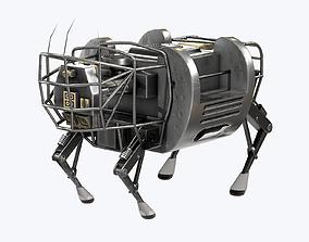 3D asset LS3 Robot Boston Dynamics