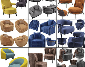 3D model Armchair set 1