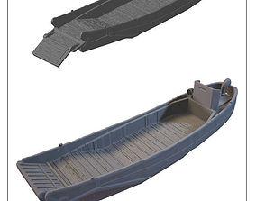 3D printable model japanese landingcraft -stl file-