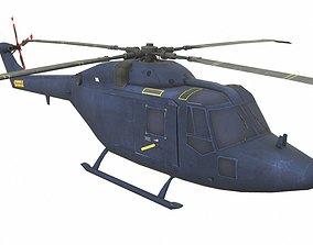 3D asset low-poly Westland Lynx