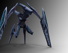 Guardian the Ripper 3D asset rigged