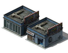 Future World - Business District 01 3D model