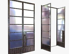 3D Custom made crittal doors