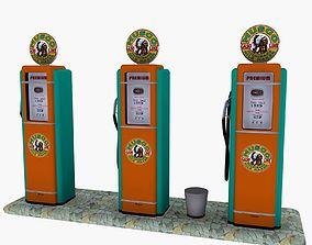 Gas Pump Musgo 3D model